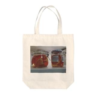 みかんの酵母作り Tote bags