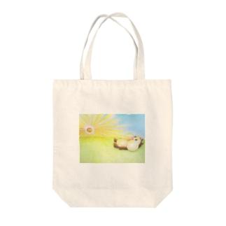 もぐもぐグーさん -朝- Tote bags