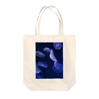 ジェリーフィッシュ Tote bags