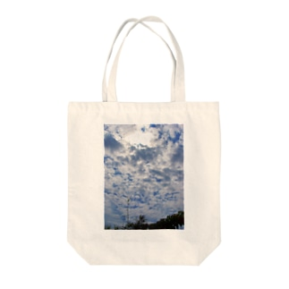 空と雲 DATA_P_124 sky cloud Tote bags