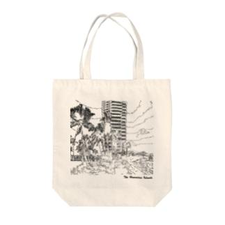 ワイキキビーチ Tote bags