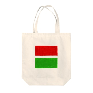 Red &Green Tote bags