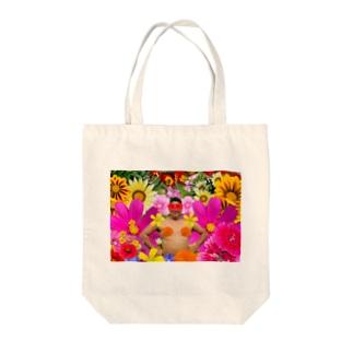 花と変態 Tote bags