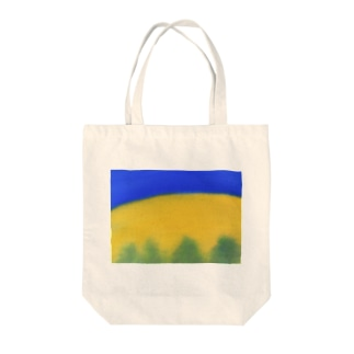 Blue night Tote bags