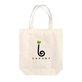 ロゴ(ライトグリーンver.) Tote bags