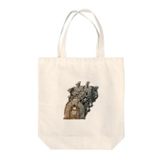 登窯絵図 Tote bags