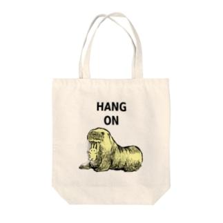 セイウチ Tote bags