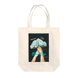 チョークアート 花束 Tote bags