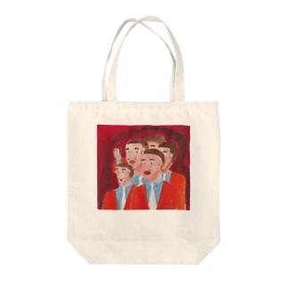 ボイスマン Tote bags