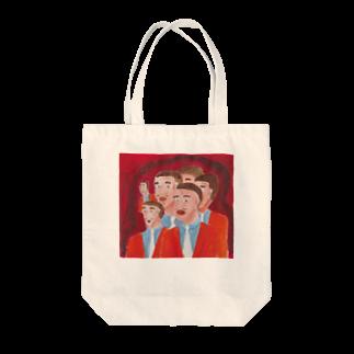 トリノテ販売所のボイスマン Tote bags