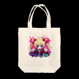 いちご爆弾のモウジュウ系女子(ぱんきっしゅ) Tote bags