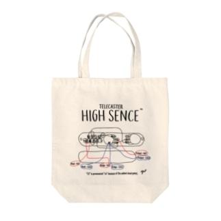 配線図 Tote bags