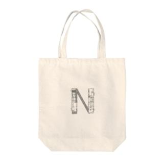 madorizu room-N 【間取り図】 Tote bags