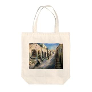 YOSHIKO MIYAHARA 「プロヴァンスの街並み」 Tote bags