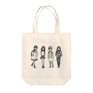 ファッションで春夏秋冬 Tote bags