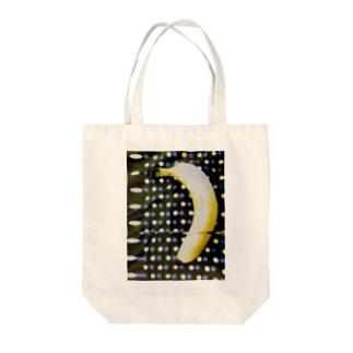 BANANA POP II Tote bags