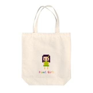 PixelGirl Tote bags