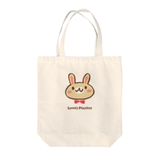Lovely playboy Tote bags