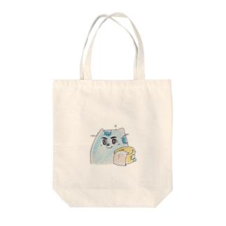 かっこいいねこぜ(時価) Tote bags
