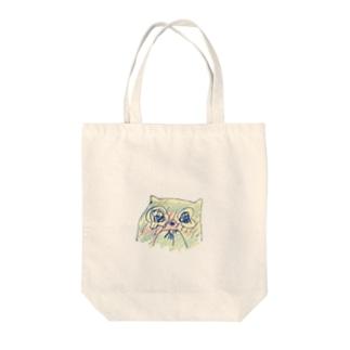 うるうるねこぜ(時価) Tote bags