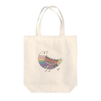 とりちゃん Tote bags
