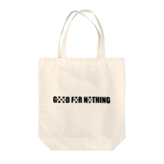 GOOD FOR NOTHING Tote bags