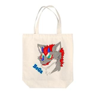 私のオリドラBeGa君のグッズ Tote bags