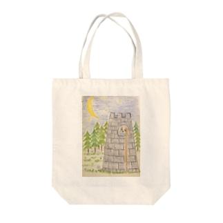 キャプンツェル Tote bags