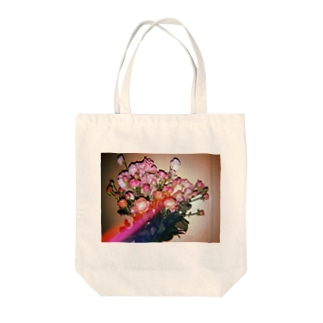 西田家お花トートバック Tote bags