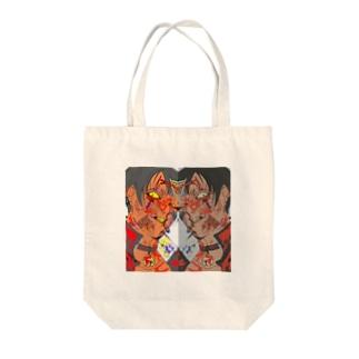 デコラ Tote bags