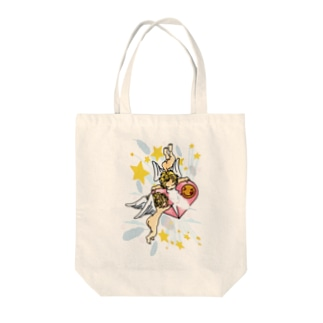Angelic_Impact Tote bags
