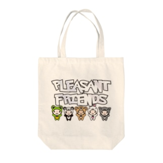 Pleasant_Friends Tote bags