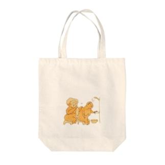 仲良しおばあちゃん(時価) Tote bags