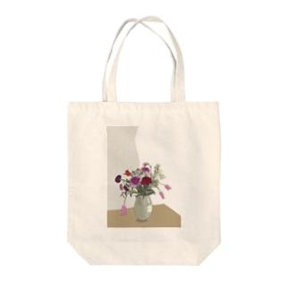 flower2 Tote bags