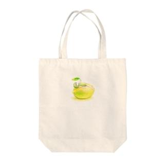 Yurikaのレモンちゃん Tote bags
