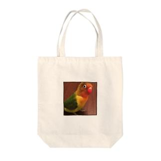 とり Tote bags