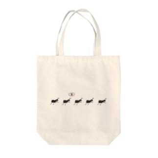 蟻 Tote bags