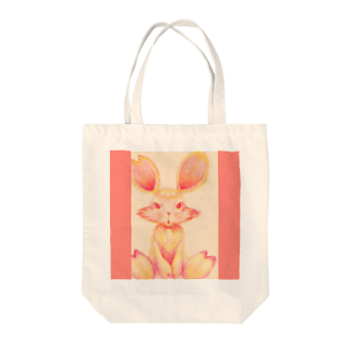Shirley GaleのTOKOHARU Rabbit❤Mimo Tote bags