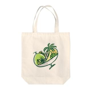 フルーツ盛り Tote bags