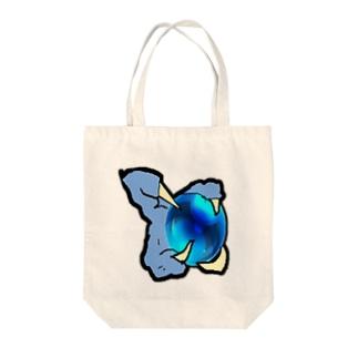 青龍の手 Tote bags