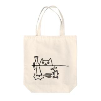 俊敏なネズミ Tote bags