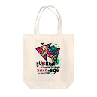 ニゲラ2 Tote bags