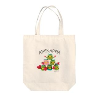 AMIKAPPA ピラミッド Tote bags