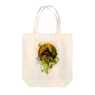 KAGUYA Tote bags