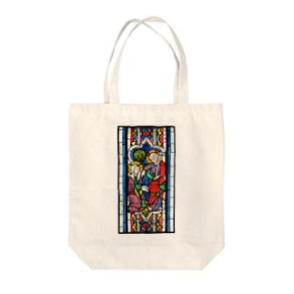ステンドグラス「ノリ・メ・タンゲレ」 Tote bags