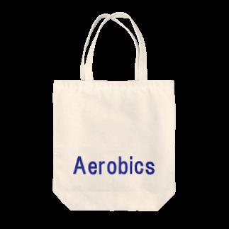アメリカンベースのエアロビクス Tote bags