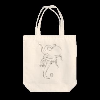 絵とタコと🐙のエノタコくん Tote bags