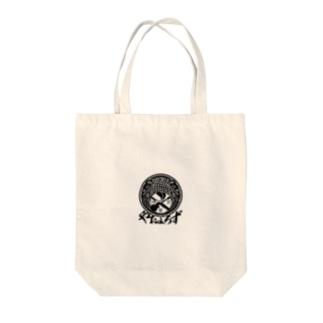 やおよろずグッズ(黒ロゴ) Tote bags