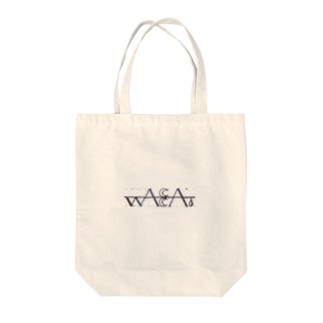 wacca.ロゴ入りトートバッグ Tote bags
