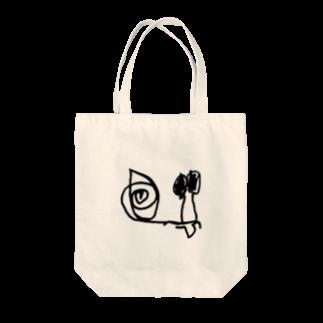 rukotanshopのでんでんむし Tote bags